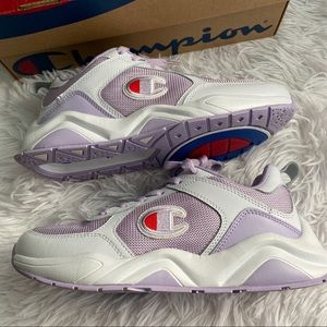 CHAMPION Eighteen Mono Block Violet/White Sneakers